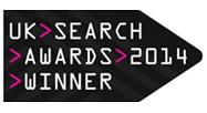 UK Search Awards Winner 2014