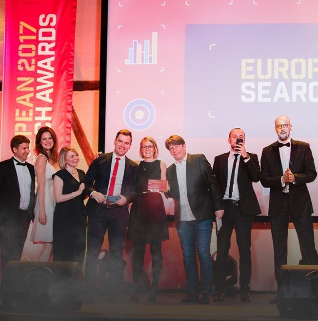 EUROPEAN SEARCH AWARD võitis BlueGlass Interactive!
