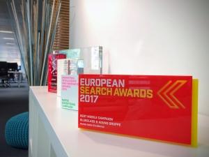 European Search Awards Trophee