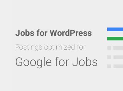 Tööpakkumised – Plugin. Optimeeri oma ettevõtte tööpakkumised Google'i jaoks