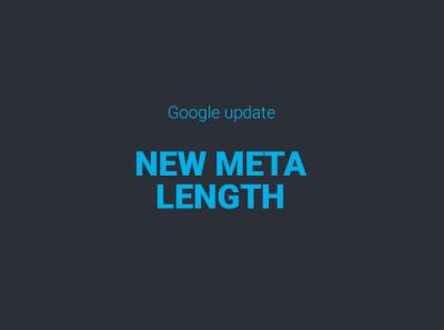 Google suurendas Meta kirjeldamise lubatud pikkust.